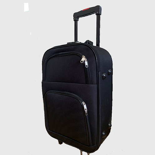 Valija Carry On  Cabinera Tela Reforzada  - CARRY1A