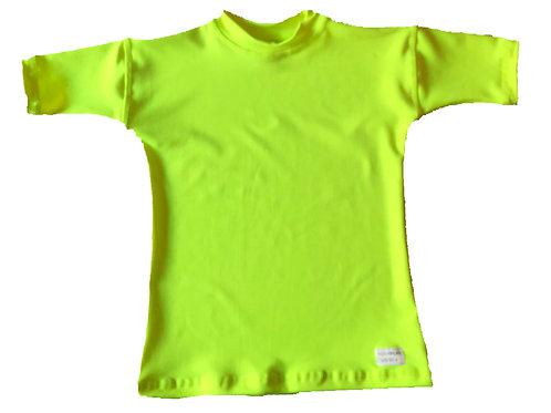 Remera Protección Filtro Solar UV 50+ Amarilla
