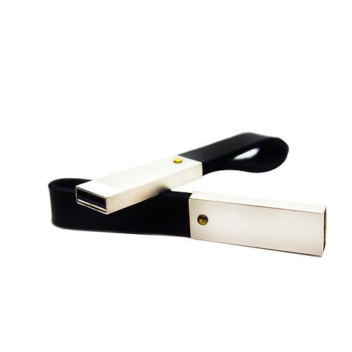 Pendrive llavero cuero - 8GB - PEN61