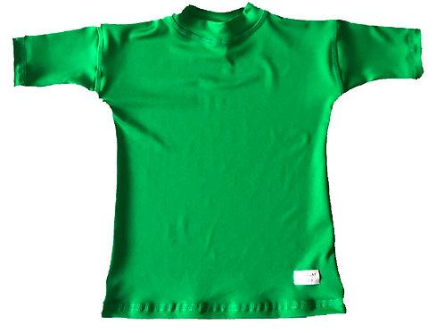 Remera Protección Filtro Solar UV 50+ Verde