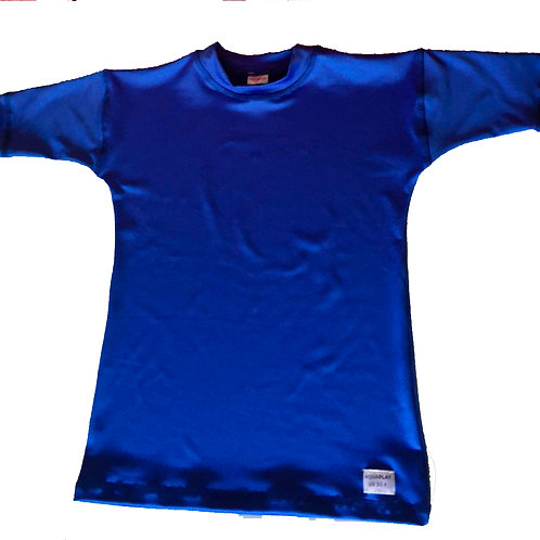 Remera Protección Filtro Solar UV 50+ Azul