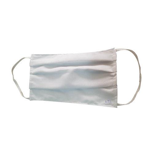 Barbijo de tela tricapa lavable
