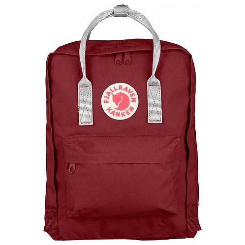 KANKEN MEDIUM 16L CLASSIC - OX RED - WHITE