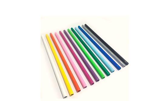 Sorbete de aluminio pintado color recto (20 x 0,70 cm)