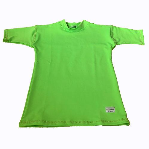 Remera Protección Filtro Solar UV 50+ Verde Claro