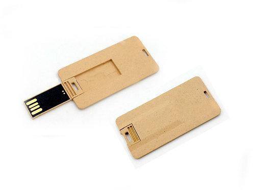 Eco-Mini pendrive tarjeta papel - 16GB - UDZ-17