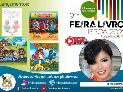 91.ª edição da Feira do Livro de Lisboa recebe livros de lançamentos da escritora Blenda Bortolini