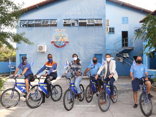 Aglaia Olegário Secretária de Direitos Humanos e Segurança recebe Dep.Federal Joziel em Cabo Frio-RJ