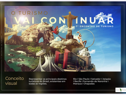 O Turismo vai continuar no Brasil e a cidade Maravilhosa também!