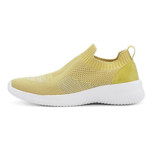 Knit Sock Yellow