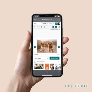 Photobox Mobile Web
