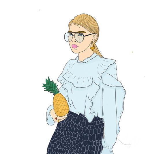 On wednesday's we pineapple