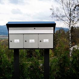 tryggstainless postkasse