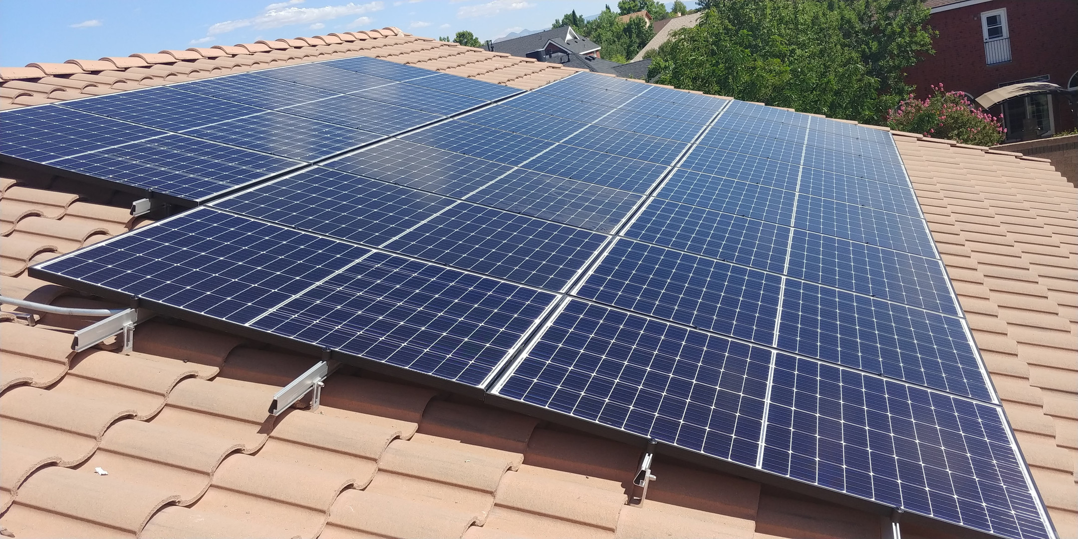 6.72 kW Pitched Tile Roof in Albuquerque