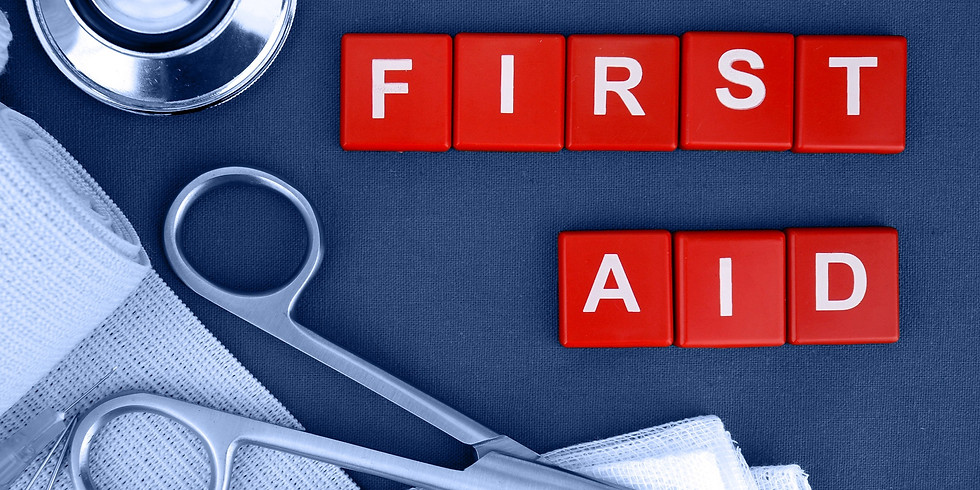 First Aid @ The Bling 8th - 10th July 2019