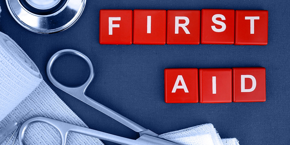 First Aid @ The Bling 6th August 2019