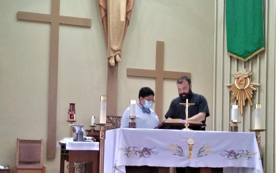 Training a new altar server
