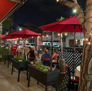 Outdoor Dining Parklets
