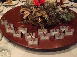 Customized Place Settings