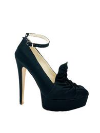 Noir loafer-style Maryjane