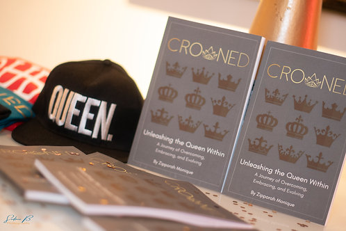 SIGNED COPY of CROWNED: The Journey of Unleashing the Queen Within
