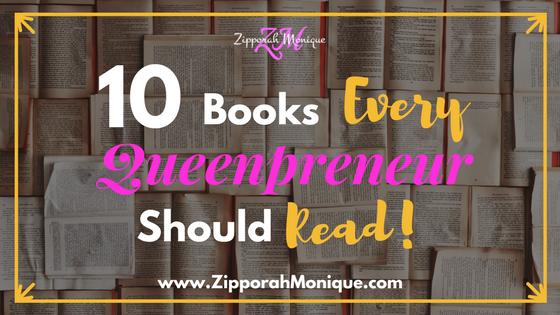 10 Books Every Queenpreneur Must Read!