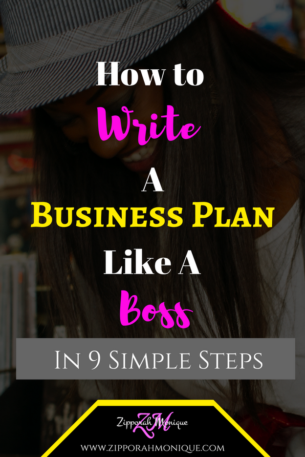 How To Write A Business Plan Like A Boss