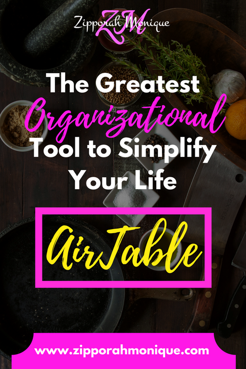 I'm in LOVE.....With this FREE Organizational Tool! AirTable | Info and Reviews