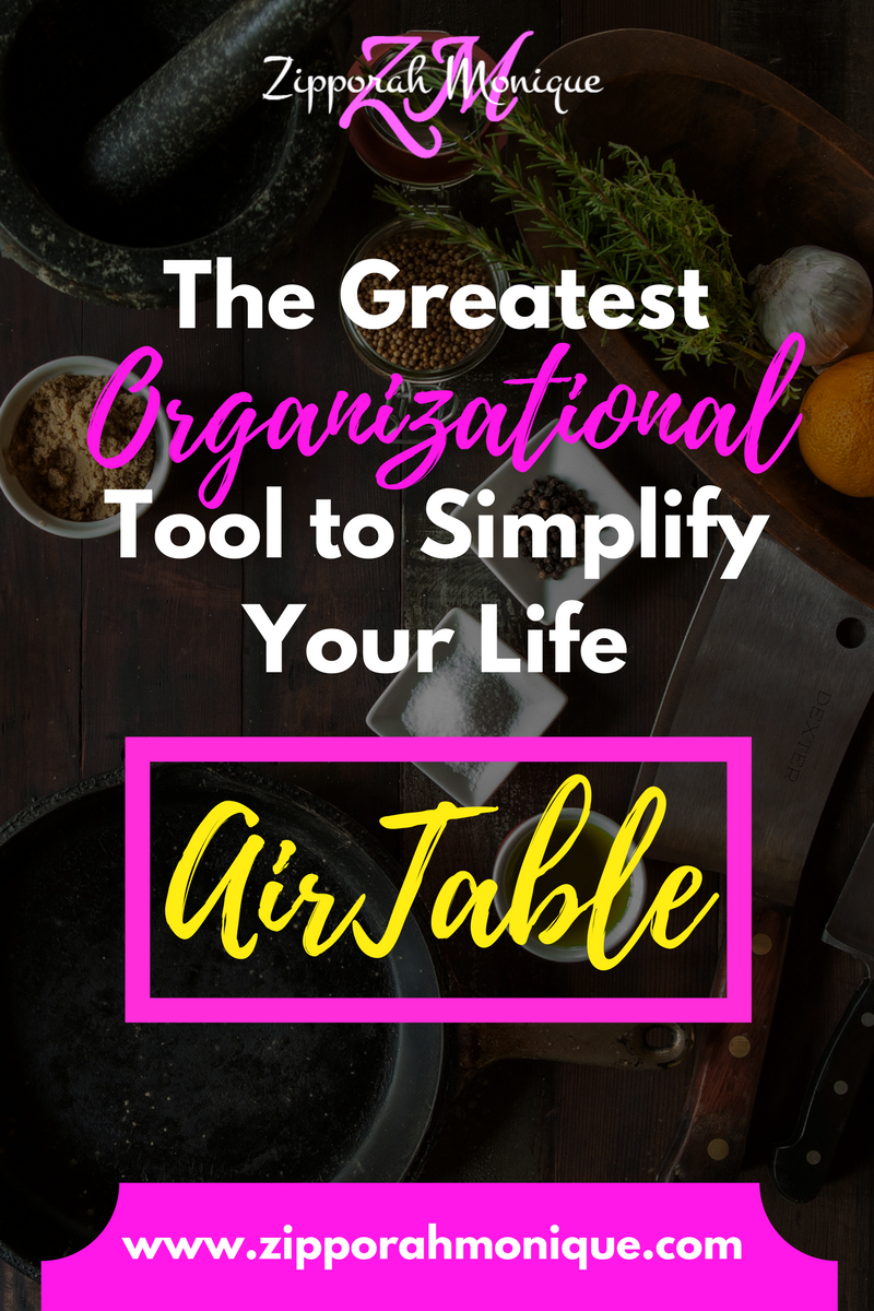 The Greatest Organizational Tool!