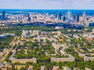 Mokotów-morze-zieleni-i-skyline-fotoobra
