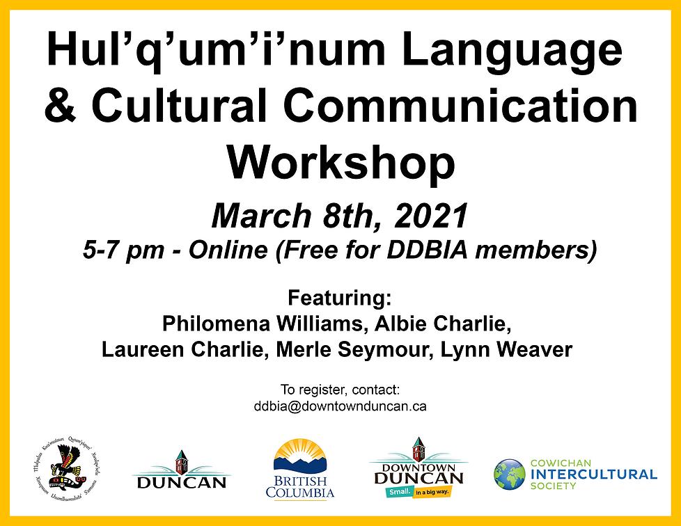 Hul'q'min'num Workshop Poster 5.png