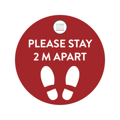 BLC COVID-19 Floor Sticker 2M Red.png