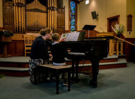 Highlights from Forte School of Music's Winter Recital