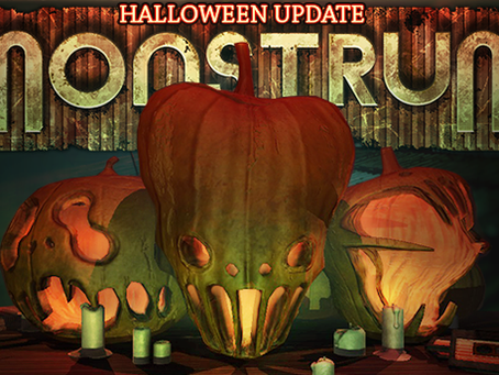 Monstrum v.1.3 – Oculus, Halloween and more!