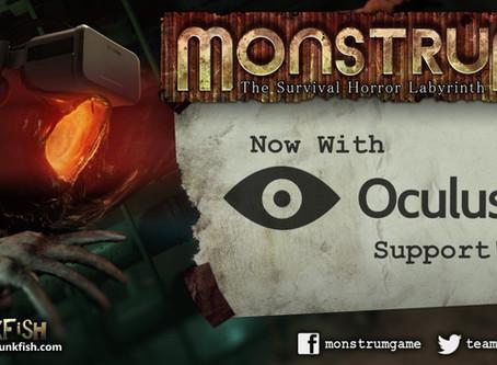 Monstrum Oculus Rift Build now live (sorta)!