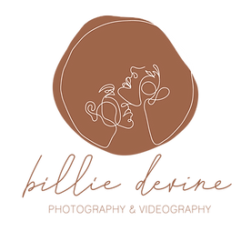 Billie-Devine-Logo-Rust-and-white-100px.