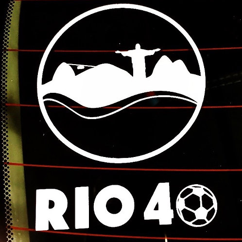 Rio 40 Car/Window Decal