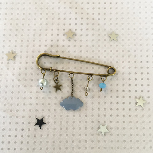 Broche en email collection Nuage
