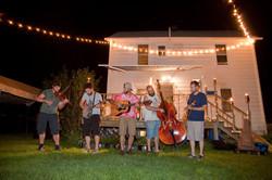 The Good Whuppin String Band.