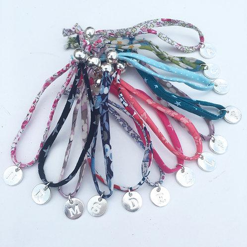 Bracelet enfant Liberty initiale