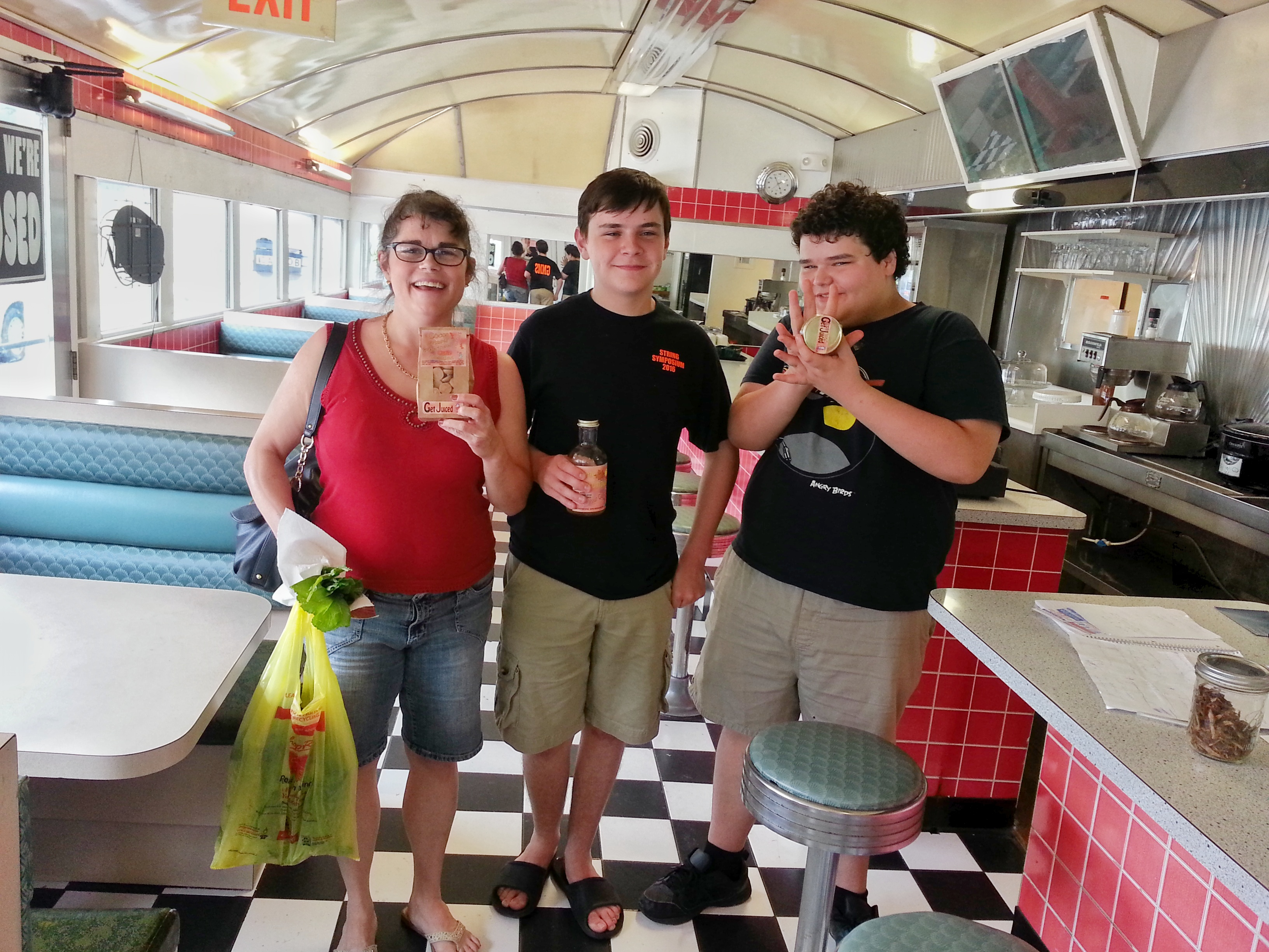 Our first customers!!!