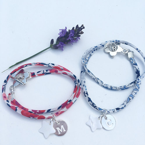 Bracelet Liberty initiale