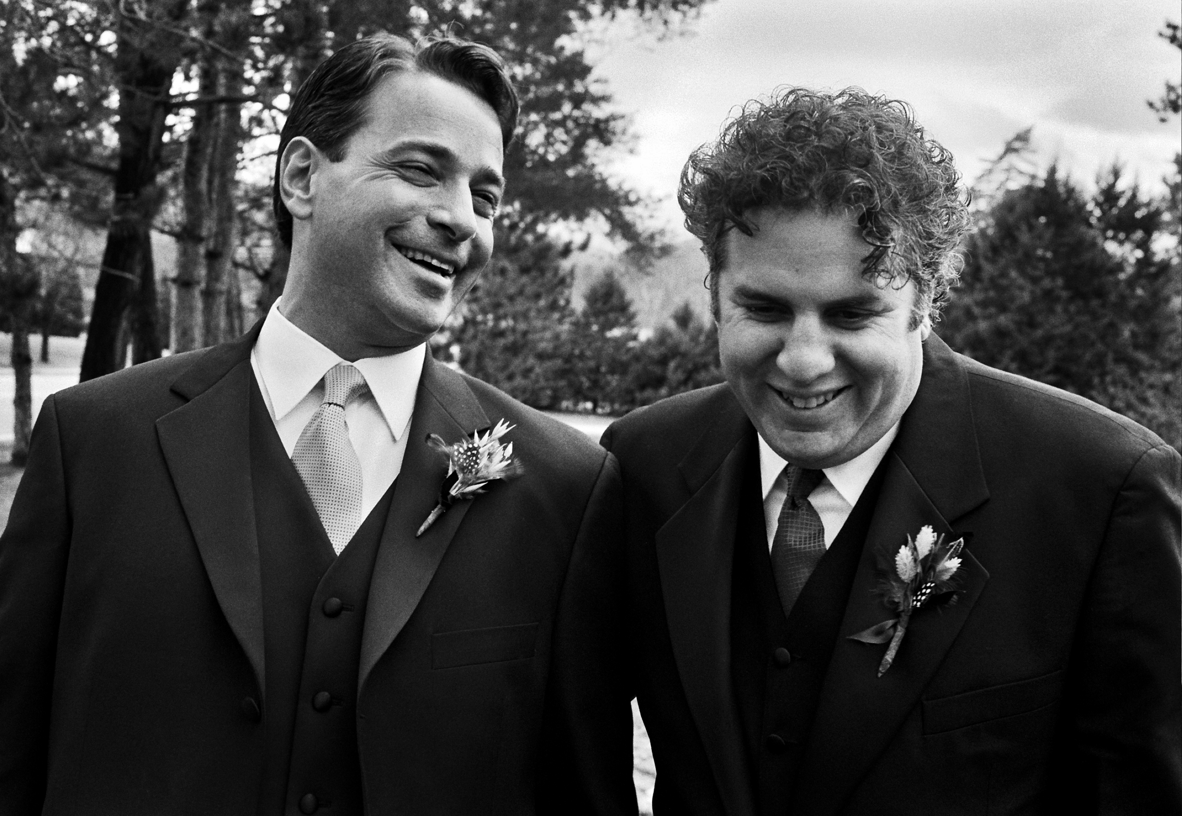 Vermont Groom and Best Man