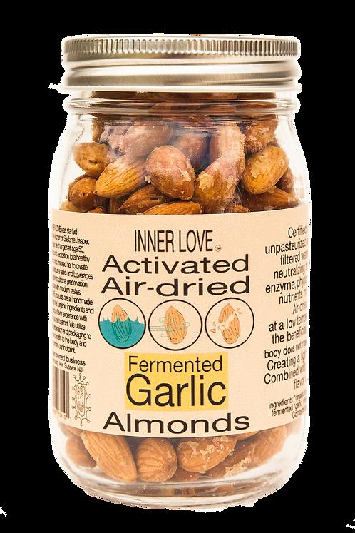 Fermented Garlic Almonds