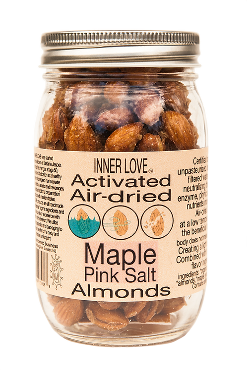 Maple Pink Salt Almonds