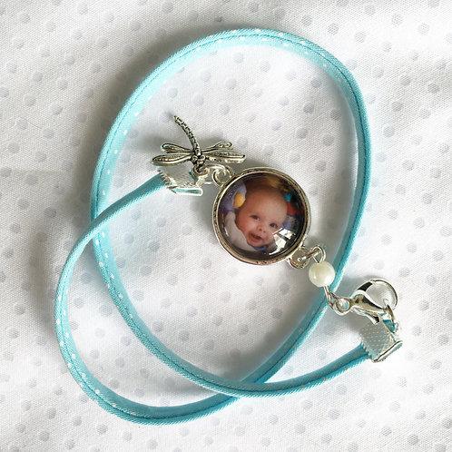 Bracelet double Liberty avec Photo