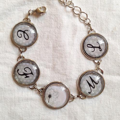 Bracelet Personnalisé avec Initiales