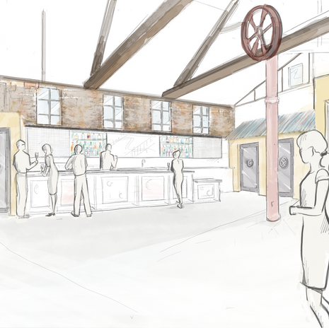 Miners Foundry conceptual design