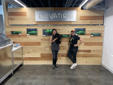 Elevation Pick-Up room wall