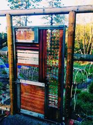 Multi-media Garden Gate